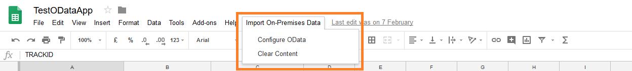 5 Google Sheets OData