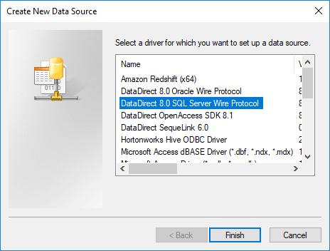 Choose sql server
