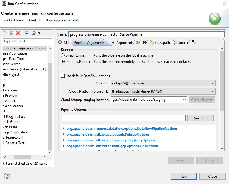 configure cloud storage