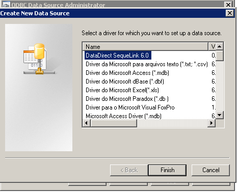 DATADIRECT SEQUELINK JDBC DESCARGAR DRIVER