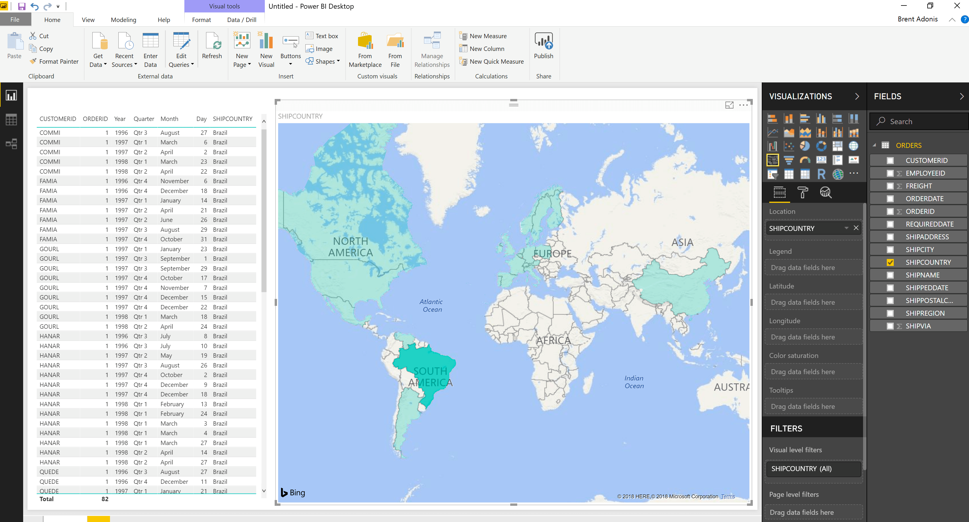 Connect Microsoft Power BI to Snowflake via OData
