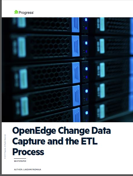 OpenEdge CDC and the ETL Process