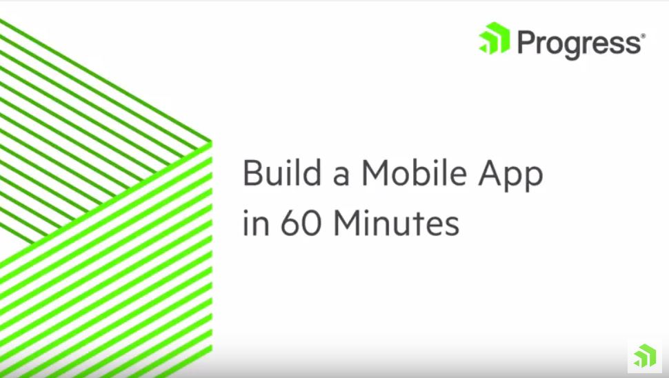 Build a Mobile App in 60 Minutes