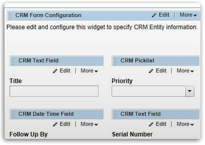 Design CRM Connected Forms