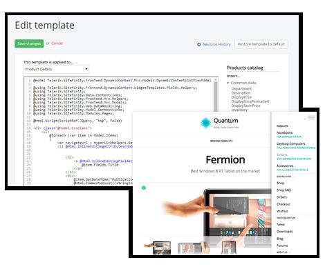 content-presentation-framework