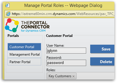 Manage Portal Users