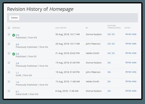 version-history
