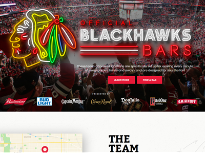 Chicago Blackhawks - Official Bar Directory & Bar Portal