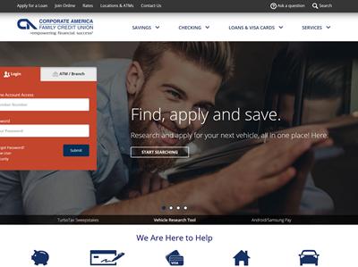 Corporate America Family Credit Union