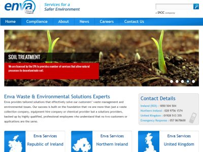 Enva Services for Safer Environment