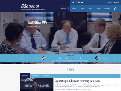The New Zealand National Party