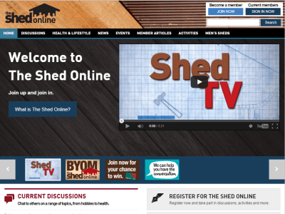 The Shed Online