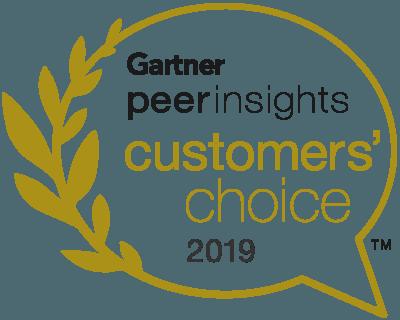 Gartner Peer Insights Customers' Choice