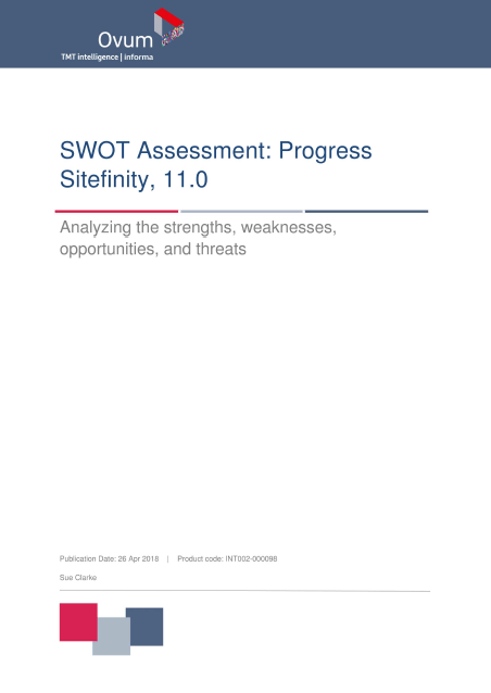 Ovum SWOT Screenshot